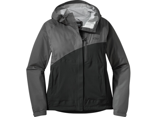 Outdoor Research W's Panorama Point Jacket Charcoal Herringbone/Black